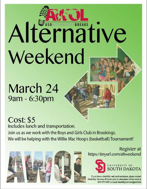 ALT Weekend Poster March